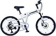 Upten Hummer Folding Bike Foldable Bicycle Mountain Cycles