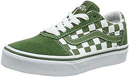 vans bianche e verdi
