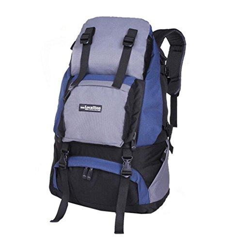 Wmshpeds Outdoor travel borsa a tracolla femmina alpinismo viaggio borsa zaino camouflage maschio 40L bagagli F