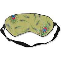 Eyes Mask Comfort Peacock Feather Silk Mask Contoured Eye Masks for Sleeping,Shift Work,Naps preisvergleich bei billige-tabletten.eu
