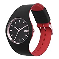 Ice-Watch - Ice Loulou Black Rose Gold - Reloj Negro para Mujer con Correa de Silicone
