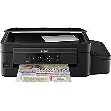Epson EcoTank ET-2550 - Impresora multifunción, inyección de tinta, color negro