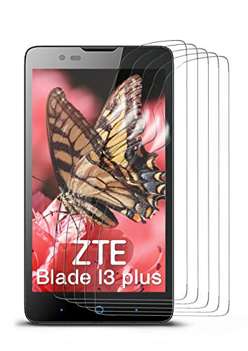 moex 5X ZTE Blade L3 Plus | Schutzfolie Klar Bildschirm Schutz [Crystal-Clear] Screen Protector Display Handy-Folie Dünn Bildschirmschutz-Folie für ZTE Blade L3 Plus Bildschirmfolie