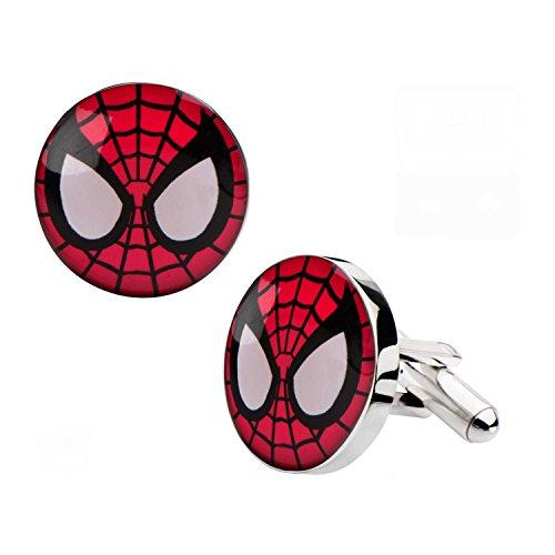 marvel-the-amazing-spider-man-spider-face-stainless-steel-cufflinks
