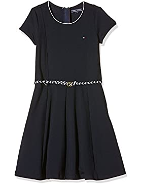 Tommy Hilfiger Mädchen Kleid Punto Dress S/S