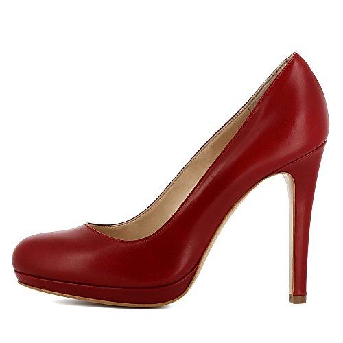 Evita Shoes Cristina, Scarpe col tacco donna Rosso scuro