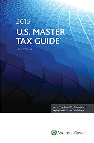 U.S. Master Tax Guide 2015