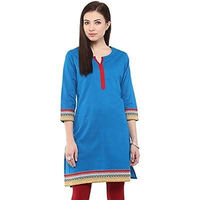 Rangmanch by Pantaloons Women Cotton Straight Kurta