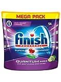 Finish Quantum, lavastoviglie Tabs Apple & Lime, confezione risparmio, 54Tabs