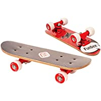 Funbee - OFUN247R - Mini Skate Erable - 17 pouces  - Rouge
