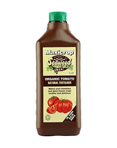 Maxicrop XOTNF61L Organic Tomato Natural Fertiliser, 1 Litre, Brown