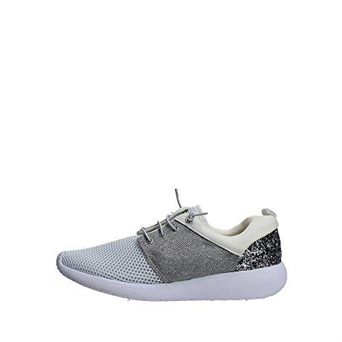 Pregunta PCAHAPPY-004 Sneakers Donna Tessuto Bianco Bianco 41