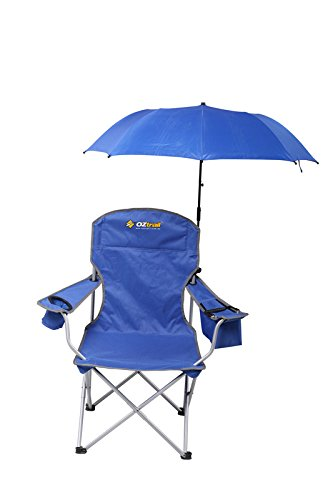 Sedia con braccioli Shade Shade Arm Chair with removable umbrella 3.3kg 85x54x152cm FCE-SHA-B Weight rating 130kg, folding beach chair, A light and compact option with removable umbrella, large drink holder and zippered insulated compartment - Paralume con braccioli, rimovibile ombrello Sedia pieghevole da spiaggia, leggero e compatto con ombrello rimovibile, grande porta bevande e con scomparto termico