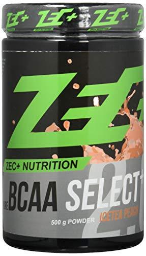 ZEC+ BCAA SELECT+ 2.0 - 500 g, Aminosäuren-Pulver mit Vitamin B6, Geschmack Icetea-Peach
