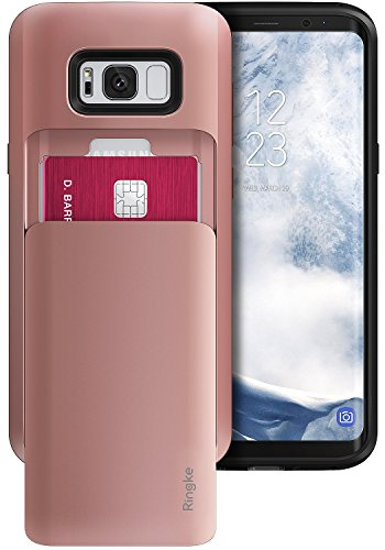 coque-samsung-galaxy-s8-plus-ringke-access-wallet-svelte-double-detenteur-de-carte-rose-or-slot-de-d