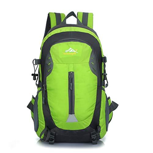WUZHENG 25L Fahrradrucksack Outdoor Sports Daypack für Wandern Radfahren Reisen Klettern Camping Leichte Männer Frauen,Green