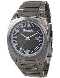 Bench BC0327GYBK - Reloj de caballero de cuarzo color gris