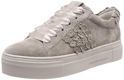 Kennel und Schmenger Schuhmanufaktur Big, Sneaker Donna Braun (Ombra Sohle Creme)
