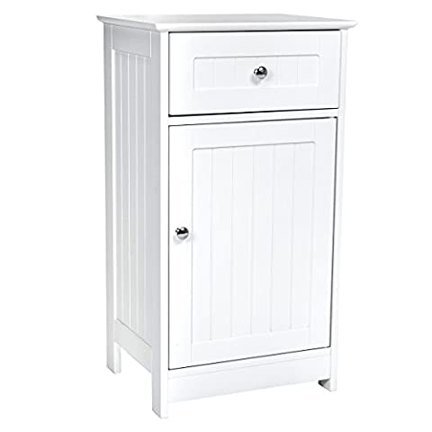 Charles Bentley Home Cannes Bathroom Mid Boy Side Cupboard Storage