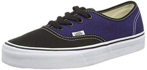 VansU AUTHENTIC 2-TONE Sneaker, Unisex Adulto Multicolore (2-Tone black/patriot Blue)