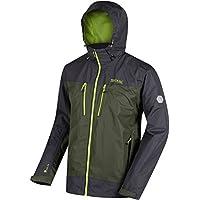 Regatta Men's Calderdale II Waterproof Jacket, Pepper/Ash