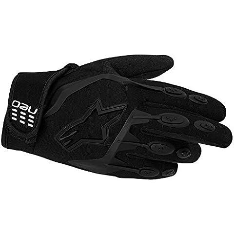 Alpinestars Neo Moto Motocross guantes, mujer hombre, negro, 10cm (L)