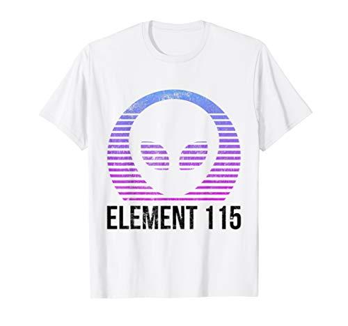 Cooles Außerirdische Dampfwelle Element 115 UFO Verschwörung - Sturm Silber Kostüm