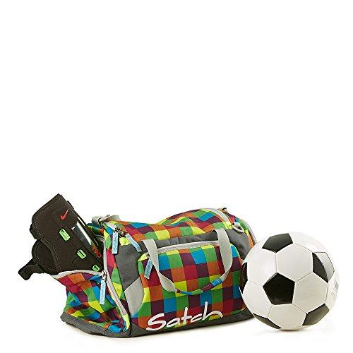 Satch Grinder borsa sportiva SAT DUF-001-216, 50 cm, 25 L, Verde Phantom (Grigio)