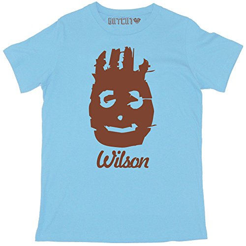 Batch1 Men's Wilson Castaway Printed Tom Hanks Film T-Shirt