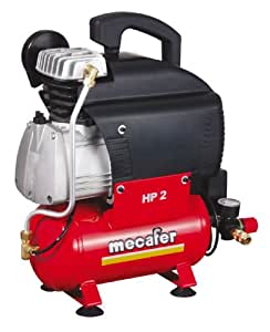 Mecafer 425533 compresseur vento 6 l 2 hp - Compresseur d air portatif ...