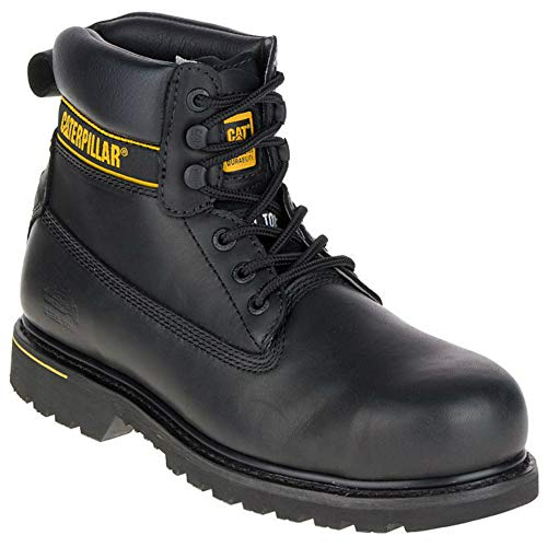 Caterpillar CAT Holton SB Black Steel Toe Cap Safety Boots Work Boots
