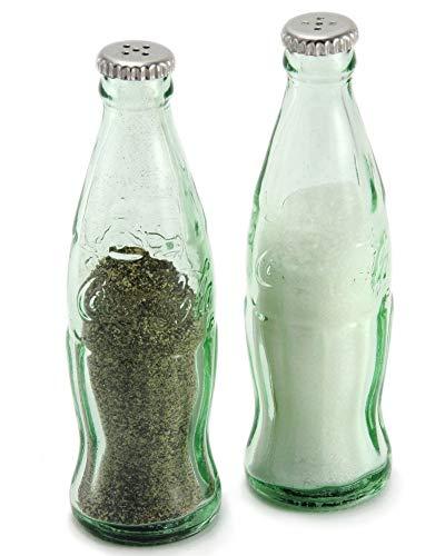 Tcp Tablecraft Cc339a Coca-ColaÃ'® Mini Bottle Salt & Pepper Shaker Set by Coca-Cola Mini Shaker Set