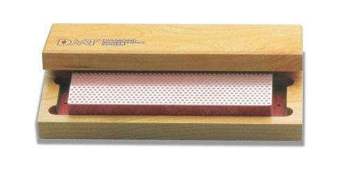DMT W8F 8-Inch Diamond Whetstone Sharpener, Fine with Hardwood Box by DMT Dmt-8