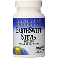 Planetary Herbals Stevia Earthsweet with FOS Powder, 2 Fluid Ounce