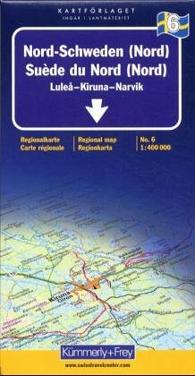 Northern Sweden: Lulea, Iruna, Tarnaby (Regional Maps - Sweden): Alle Infos bei Amazon