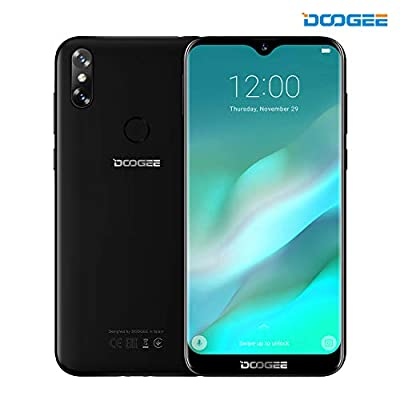 Dual Rear Camera Smartphone, DOOGEE X30 3G Android 7.0 Cell Phones 5.5 Inch Unlocked Dual SIM Card 720*1280 Moblie Phone MT6580 Quad Core with Dual 8.0MP Rear Camera, 2GB RAM+16GB ROM 3360mAh Battery