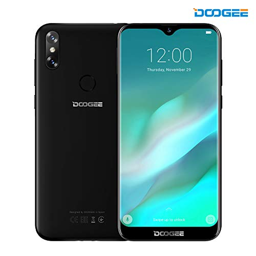Smartphone ohne Vertrag, DOOGEE Y8 Dual SIM AndroidTM 9 Handy, 4G Phone 6.1