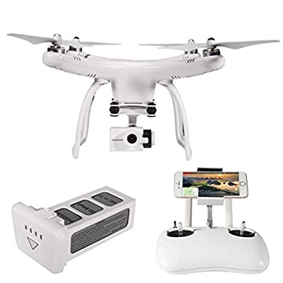 UPair One Plus Drone with 4K Camera Live Video Wifi FPV RC Quadcopter with APP Control,One Key take off,One Key Return,Follow me mode