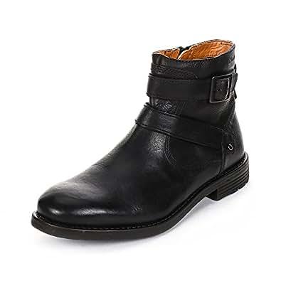 Clarks Faulkner Top, Boots homme - Noir (Black), 41 EU (7 UK)