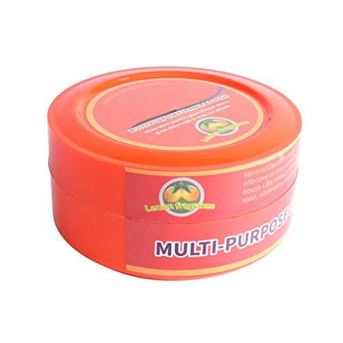 Laicai Multifunktions-Reinigungswachs, Zitronengeschmack, natürlicher Mehrzweckreiniger Brilliaire, Poliermaschine + 1 x Multi-Reinigungs-Rack-Kombination 295g a