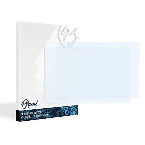 Gopro Screen 4 Protector (Bruni Schutzfolie für GoPro LCD Touch BacPac Folie - 2 x glasklare Displayschutzfolie)