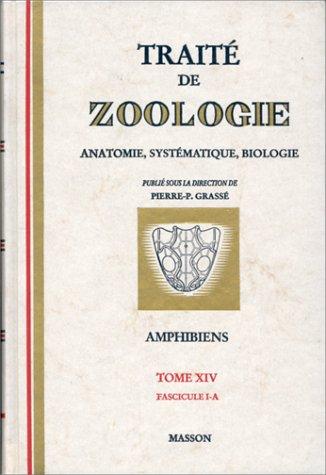 Traité de zoologie : amphibiens et reptiles, tome 14, volume 1a