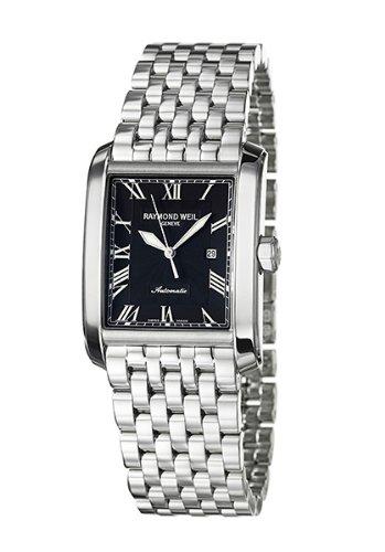 Raymond Weil - 2671 -ST -00209 - Montre Homme - Automatique - Cadran Noir - Bracelet en Acier Inoxydable