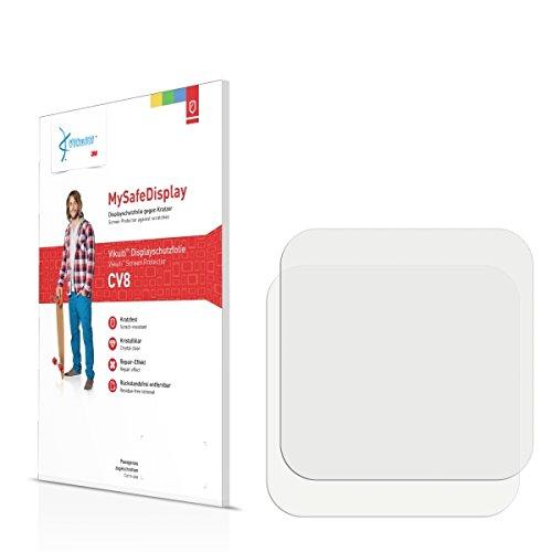 2x Vikuiti MySafeBildschirm CV8 Bildschirmschutz Schutzfolie für Simvalley Mobile AW-414.Go (Ultraklar, strak haftend, versiegelt Kratzer)