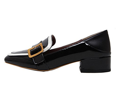 Unknown 1to9mmsg00357 - Sandales Compensées Pour Femmes, Noir