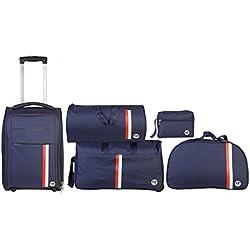 3G pack of 5 premium travel bags
