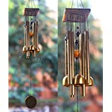 Paradigm Pictures Wind Chimes for Home Balcony Garden Decoration - Best Gift Items for Girlfriend -(4 Bell 8 Pipe)