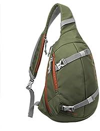 6fa1346a96356 Mardingtop Schultertasche Tactical Sling Bag MOLLE Daypack Crossbody Tasche  Brusttasche Crossbag mit Verstellbarem Schultergurt für…