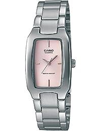 CASIO Reloj con movimiento cuarzo japonés Woman LTP-1165A-4C