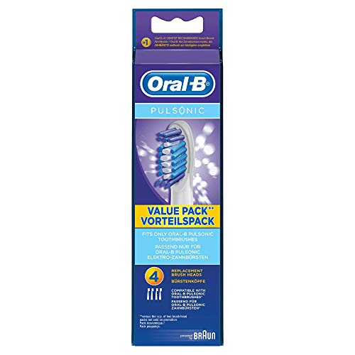 Oral-B Pulsonic Aufsteckbürsten (Ersatzbürstenköpfe) 4 Stück - 4